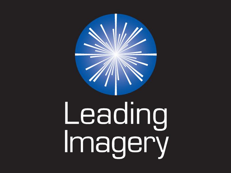 Leading Imagery Logo for Dark Backgrounds