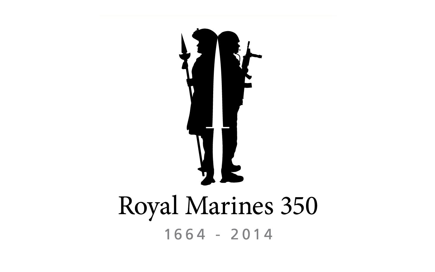 Royal Marines 350 Logo